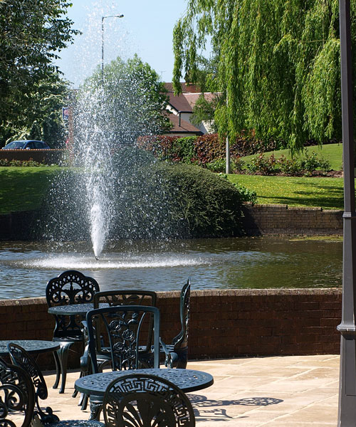 Three Counties Hotel Hereford - Patio