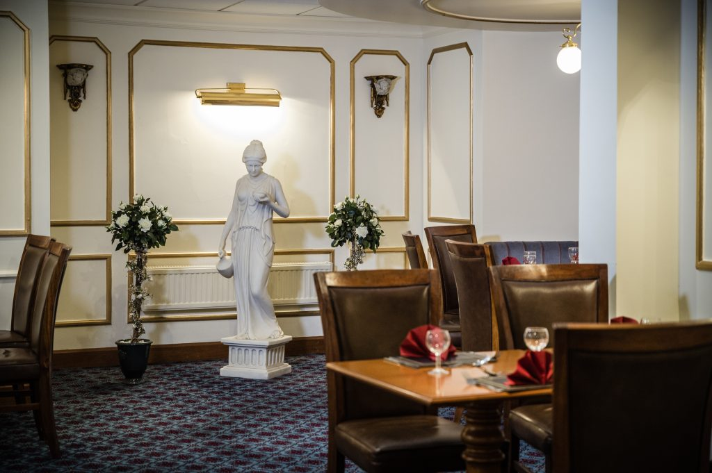 Three Counties Hotel Hereford - Statue