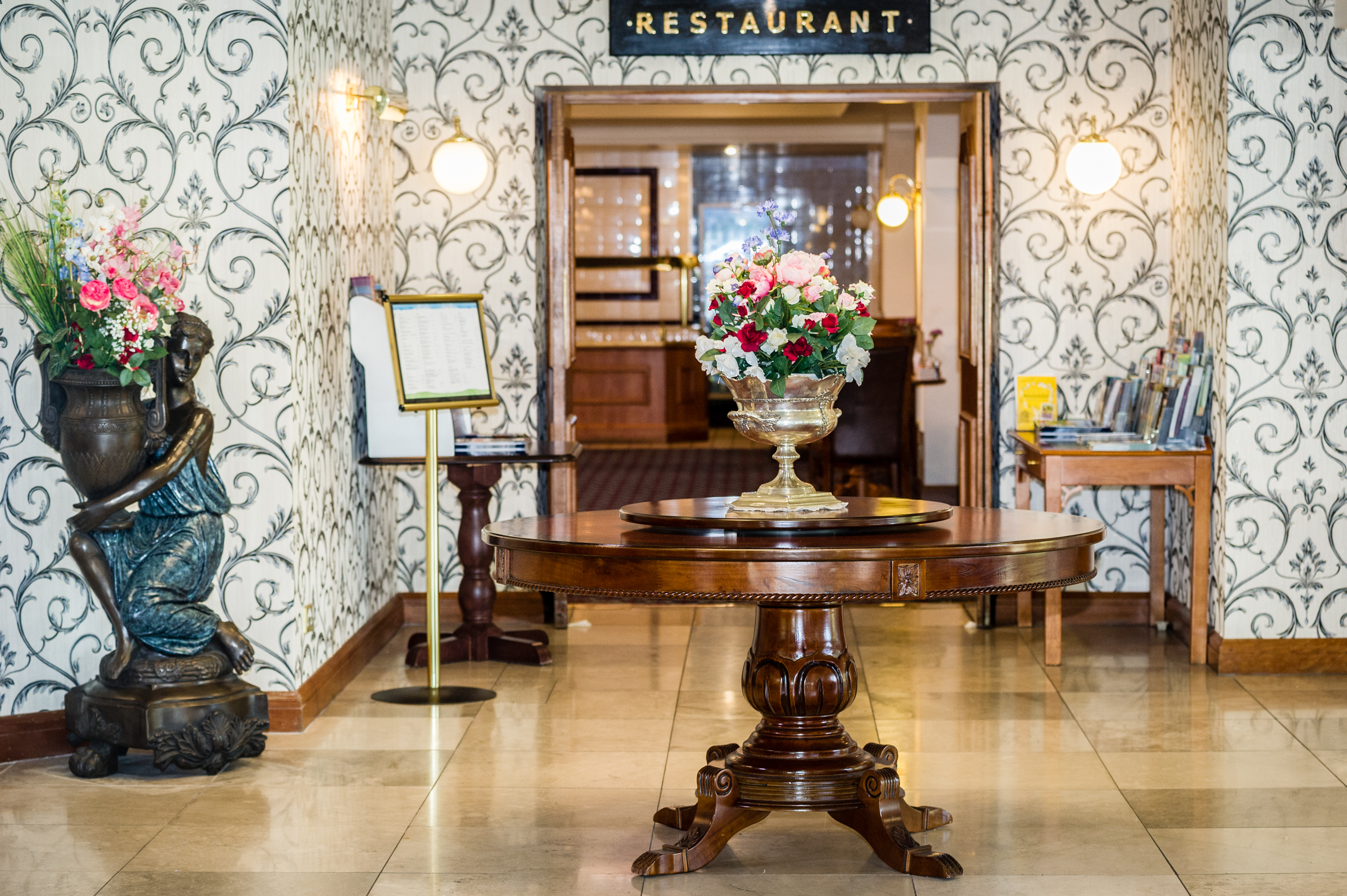 Three Counties Hotel Hereford - Restaurant entrance